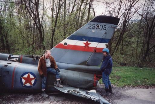 Med Paul Hansen i Bosnien