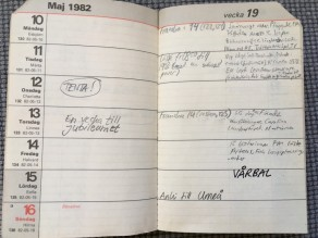 Almanacka maj 1982.