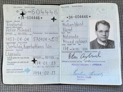 Mitt pass.