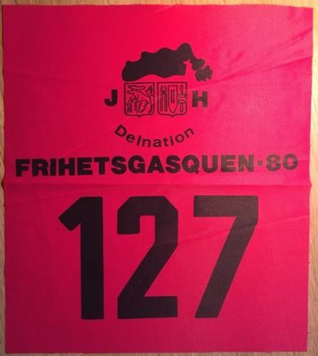 Frihetsgasquen 1980.