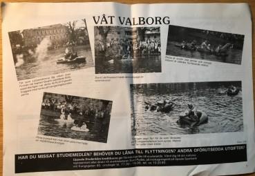 Från någon blöt Valborg.