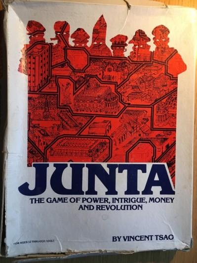 """Jag och några kompisar spelade ett tag ofta """"Junta"""" - ett lysande spel i all sin glada cynism."""