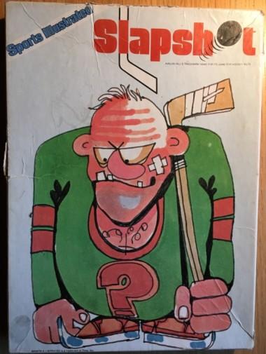 """Ett annat favoritspel från 80-talet: ja, det handlar om professionell hockey. """"Tongue in cheek"""" som det heter."""