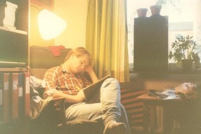 Mitt rum i korridoren 1980. Har just börjat plugga historia.