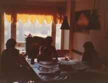 Köksscen från mina år i korridor.
